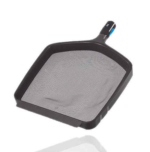 Laubkescher BLACK mit verstärktem Kunsstoffrahmen