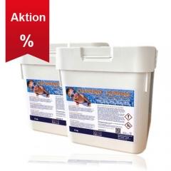 KCW® 10kg Chlorino Multitabs 5 in 1 - 200g Tabs (2 x 5kg Eimer)